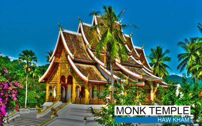 monk temple - haw kham