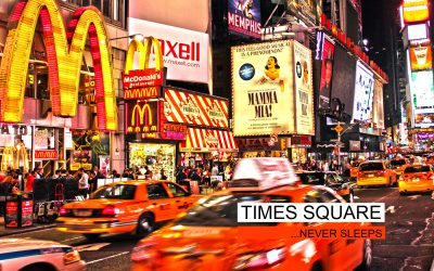times square - never sleeps