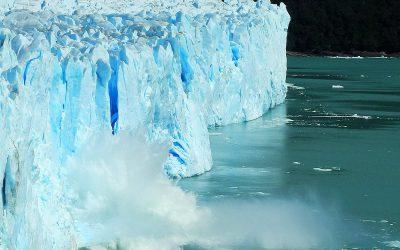 Gletscherabbruch am Perito Moreno