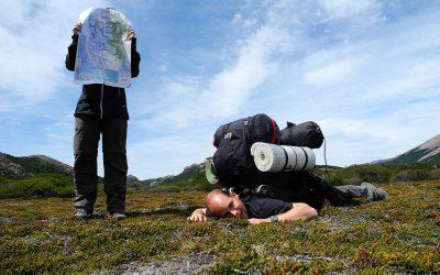 Ein gutes Hiking Team besteht aus zwei Funktionen: GPS und Lastesel