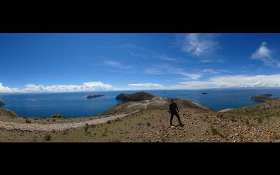 Spaziergang auf der Isla del Sol