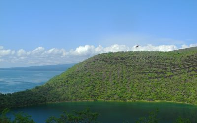 laguna at  isla isabel