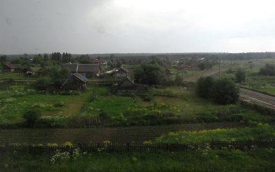 Ländliches Russland