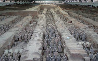 Die Krieger der Terrakotta Armee