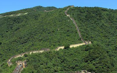Grosse Mauer bei Mutianyu