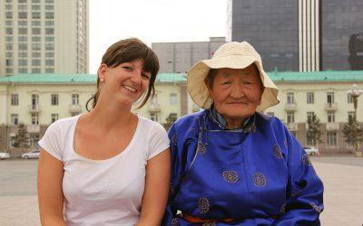 Frauenklatsch in Ulaanbaatar