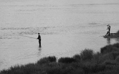 Am Fluss Angara