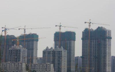 Alleine in Datong: eine von hunderten Baustellen