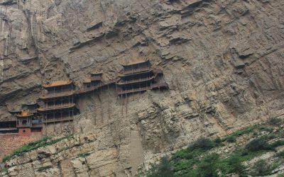 hängendes Kloster von Datong