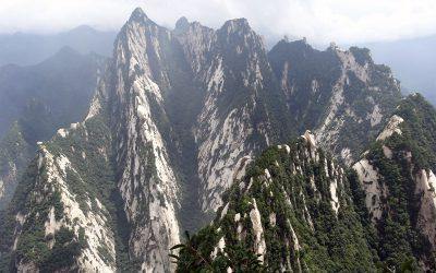 Aussicht vom Mount Hua Shan