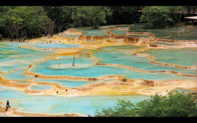 Wasserterrassen von Huanglong I
