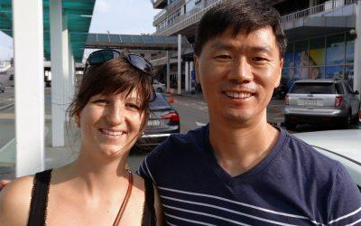 bye bye Korea, we will miss you!