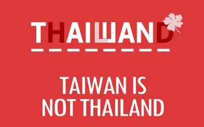 Taiwan is not Thailand