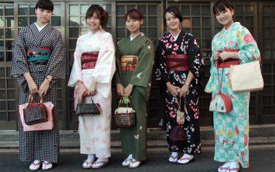 Kimonos sind cool