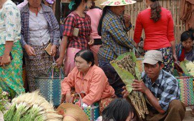 Einkaufen in Myanmar