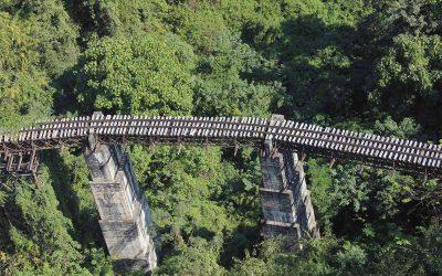 Zugfahrt in Myanmar