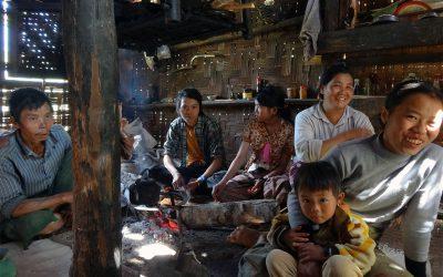 Eingeladen bei Reisbauern