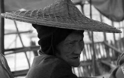 Frau in Pyay