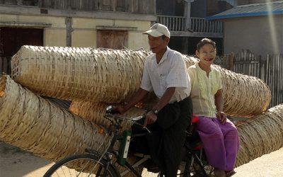 Ein glückliches Paar in Taungoo