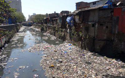Leider sehen viele indische Flüsse so aus...