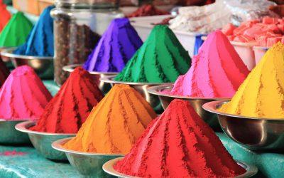 Farbenfroher Markt