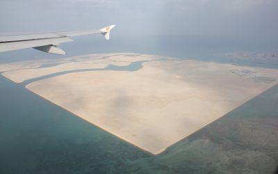Landgewinnung in Bahrain