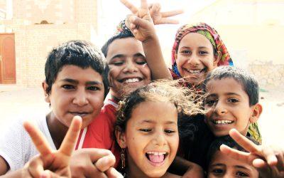 Kinder des Omans